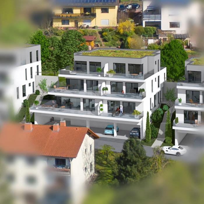 Haus 2 mit 7 Eigentumswohnungen