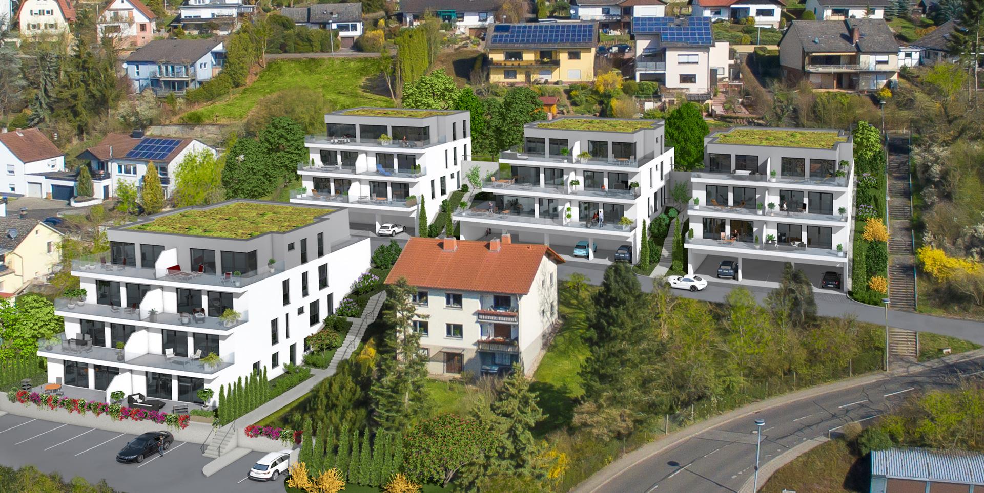 Wohnanlage mit 27 Eigentumswohnungen